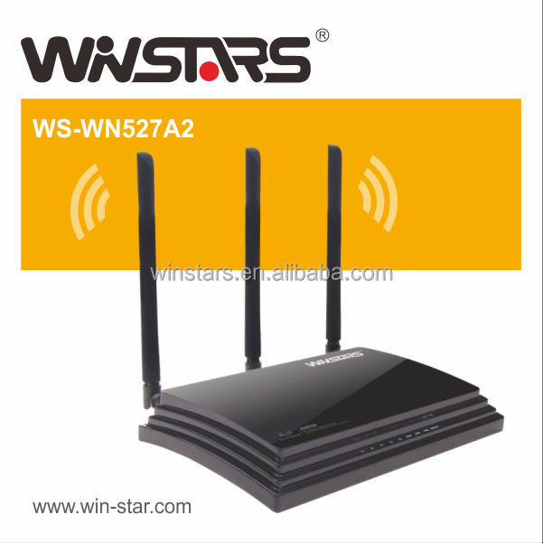 802.11ac 1200Mbps Gigabit Concurrent Dualband wireless Router