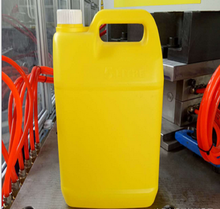High quality 5L HDPE screw cap plastic oil drum/petrol jerry can in china