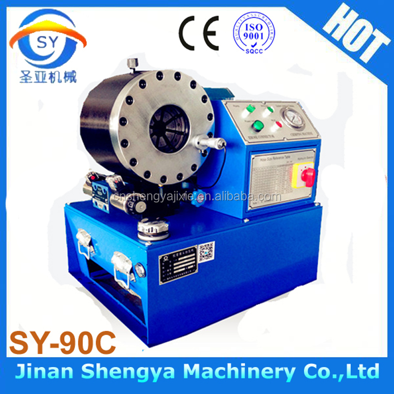SY-90C China CE pvc pipe crimper machine