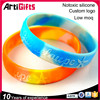 Fashion Style Factory Wholesale silicone bracelet with embossed or printed logo