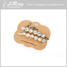Crystal Wedding Jewelry Hair Clip