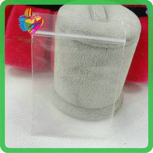 Transparent PE Pure White Universal Plastic Bag with Zipper
