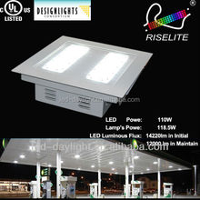 gas station led canopy IP68 DLC and UL Anti-explosive 80W patent LED gas station lamp