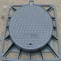 DAT group China ductile foundry manhole cover with ISO9001:2008