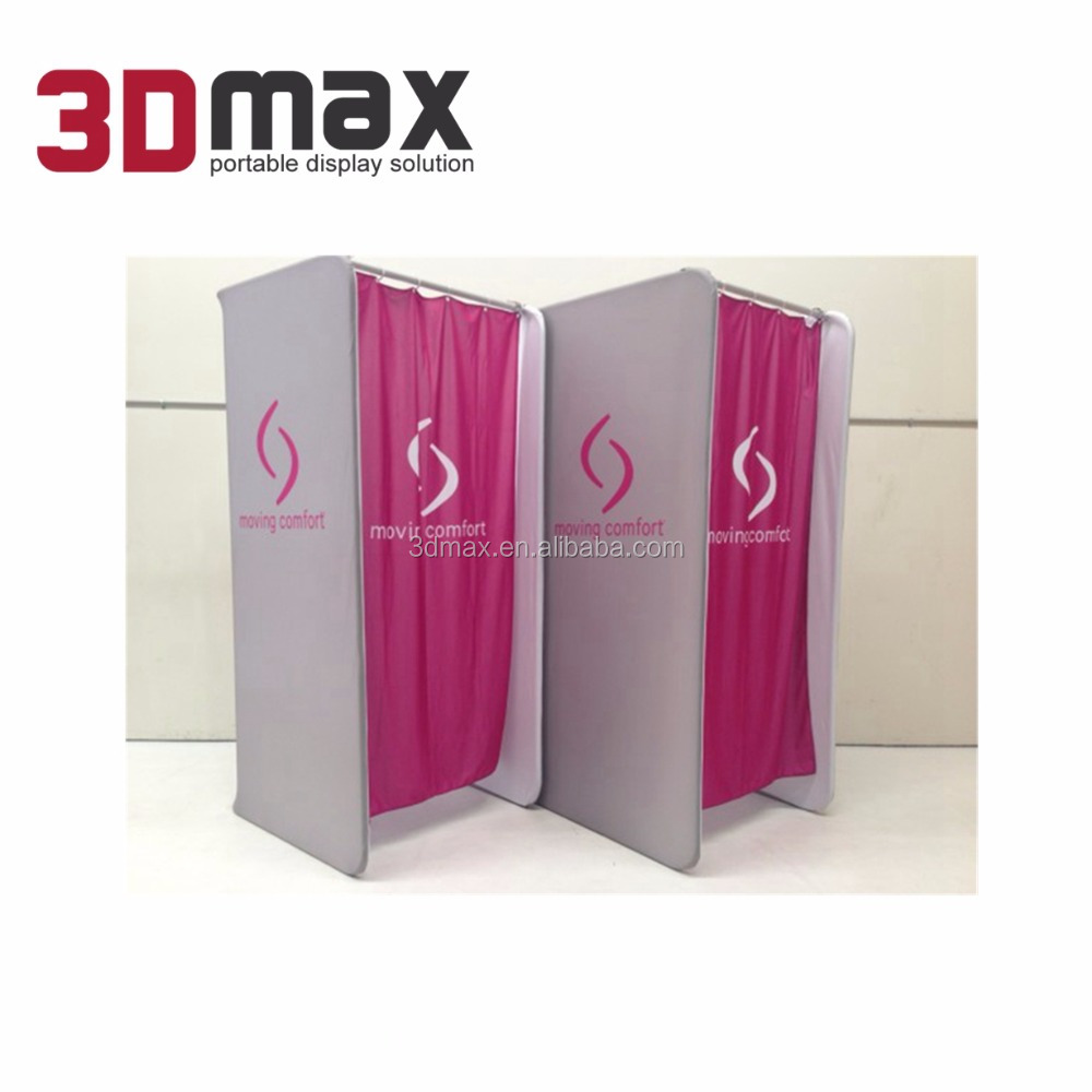 3D MAX portable pop up changing room for retail cloth store