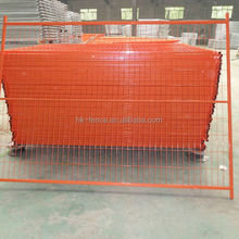 Canada temporary fence and portable construction security fence panel hot sale