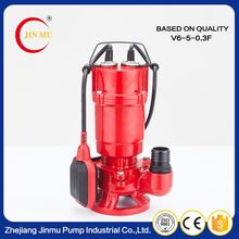 Professional factory popular sewage simple centrifugal pumps 500w water pump with vertical float switch