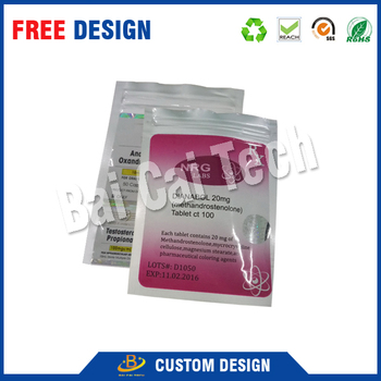 Customized waterproof durable aluminium foil for packaging, aluminum foil ziplock pouch for food