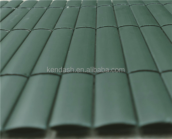 19mm Double face PVC fence Green