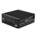 Portable station celeron J1900 mini pc up to 2.42GHz support 2ethernet port