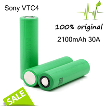 100% original for sony VTC4 2100mAh 3.7V li ion rechargeble 18650 Battery OEM