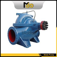 Electric motor split case water pump head 100m