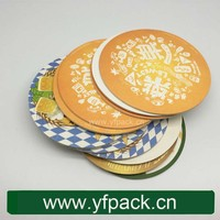Eco Friendly Custom Embossing Logo Water Absorbent Paper Coaster