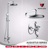 Contemporary style surface mounted Italian shower mixer
