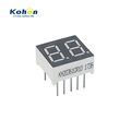 ROHS&REACH approved 2 digit red color 0.36inch common cathode LED seven segment display