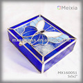 MX160051 stained glass jewelry box for home decoration or promotion gift sets