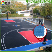 Flexible price pp interlocking removable indoor outdoor basketball flooring price