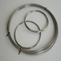 shape memory titanium nickel alloy wire products for sale