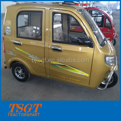 electric power drive three wheeler taxi for passenger use new design model
