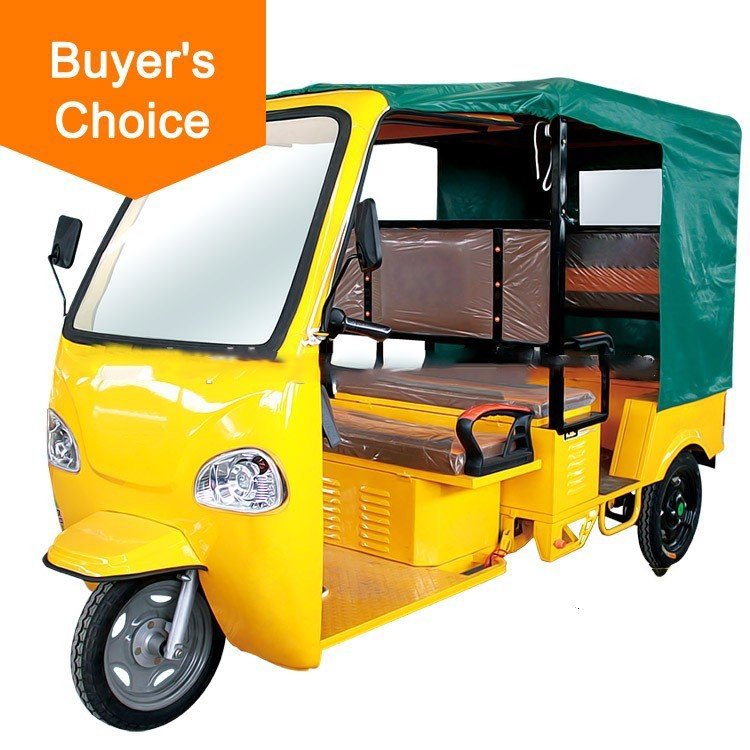 hot Three wheel ape passenger auto price image electric solar rickshaw for sale