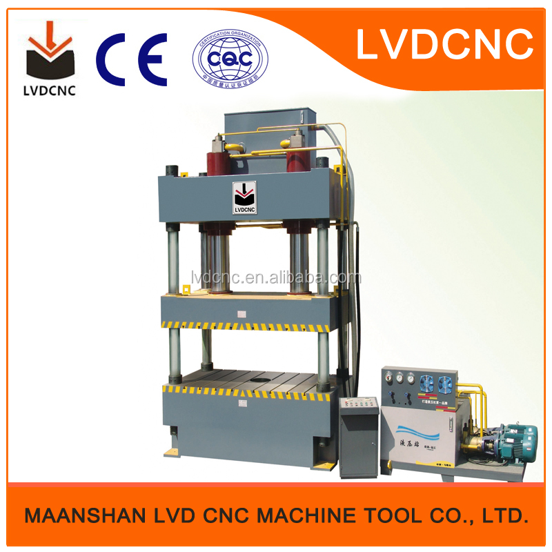 type-LVD-CNC top quality hydraulic pneumatic stamping punching clinching press machine (1000kg)