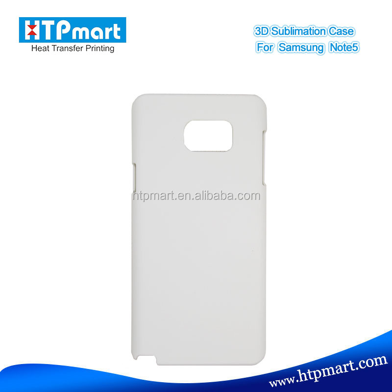 Blank Sublimation 3D Phone Case For Samsung Note5 , Fast delivery , Factory Price