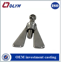 OEM decorative screw nut bolt 304 stainless steel precision castings