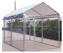 Factory used chain link portable modular fence dog cage for sale