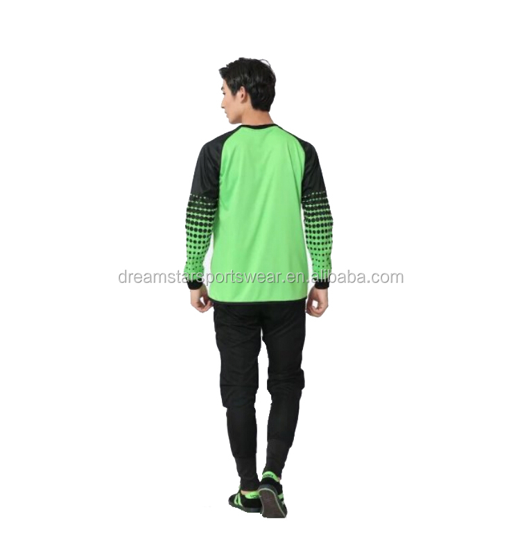 Nice Design Best Quality Soccer Goalkeeper Uniform