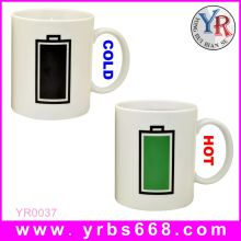 Printing your logo amazing color change mugs cheap wedding door gift/2014 wedding door gift