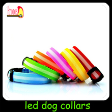 Colorful Waterproof Pet Dog Flash LED Light Tag Pendant Safety Flashing Blinker Collar