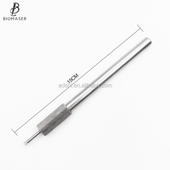 Silver Rotary Multi-function Permanent Makeup Pen Microblading Pen