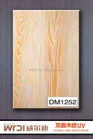 2014 new product decorative plywood two sides finished for interior doors