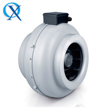 100mm ~ 355mm Inline Centrifugal Fans Circular Duct Turbine Radial Ventilator, Metal Body Radial Fan