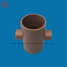 Plastic PVC Equal Cross Joint Pipe Fittings