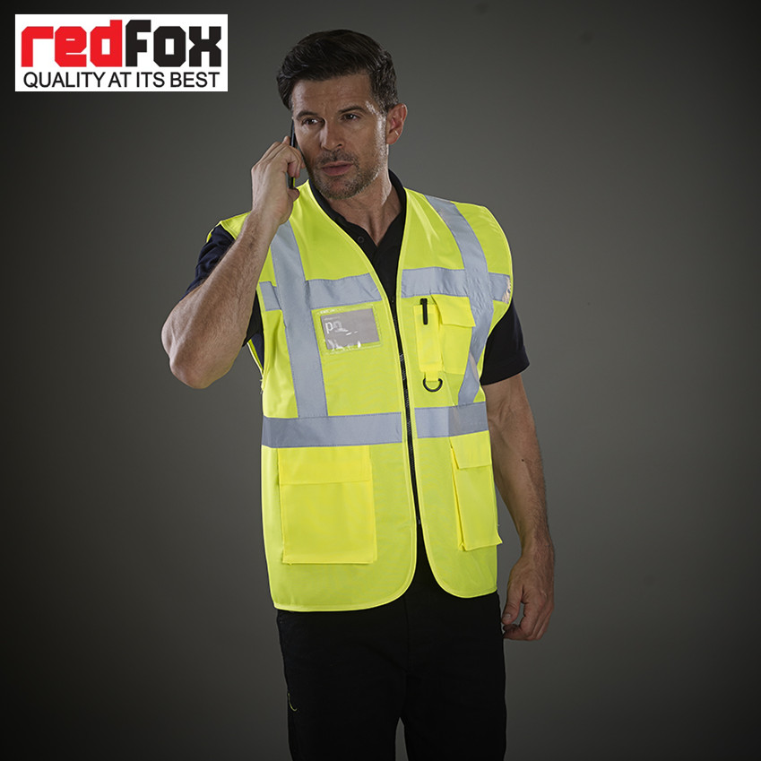 High Quality Protective Security Reflective Hi Vis Vest