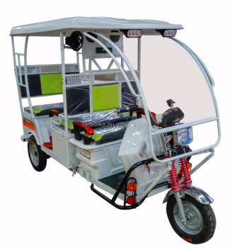 ICAT battery powered auto passengers tricycle/rickshaw/bajaj/tuk tuk/motorcycle trike/passenger cyclomotor for Indian 21000012