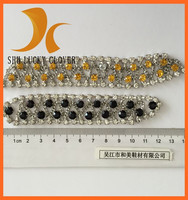 rhinestone shoe decoration crystal clips for sandals