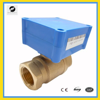 CWX-10 2 way electric motor valve DC12V for boiler water treatment, chilled water system