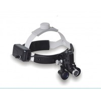 2.5X High quality Headband Binocular Dental Loupes Surgical Loupes with light