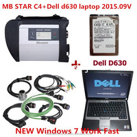 mb star c4 with dell 630 laptop mercedes star diagnosis car diagnostic scanner universal