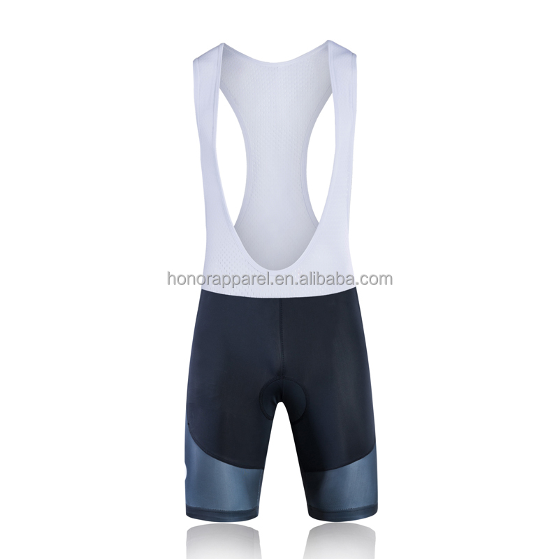 Breathable high quality sublimation adults custom colourful cycling bib shorts