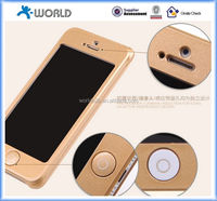 Gift packing aluminum rose gold metal western cell phone cases for iphone 5s