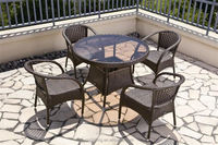 Hot sale Outdoor All Weather cheap plastic tables and chairs