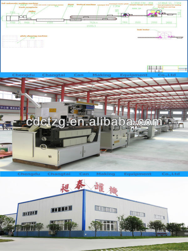 2017 new automatic tin welder