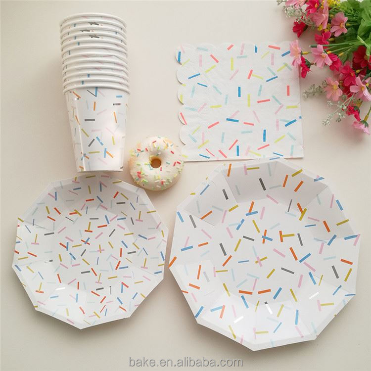 New product good quality well-made printed paper plate