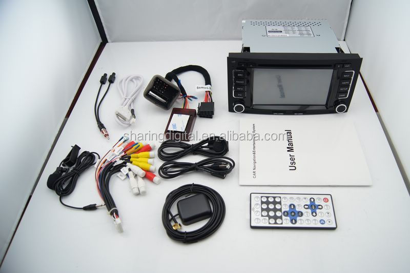 VWT-766GD support steering wheel control gps navigator for vw touareg