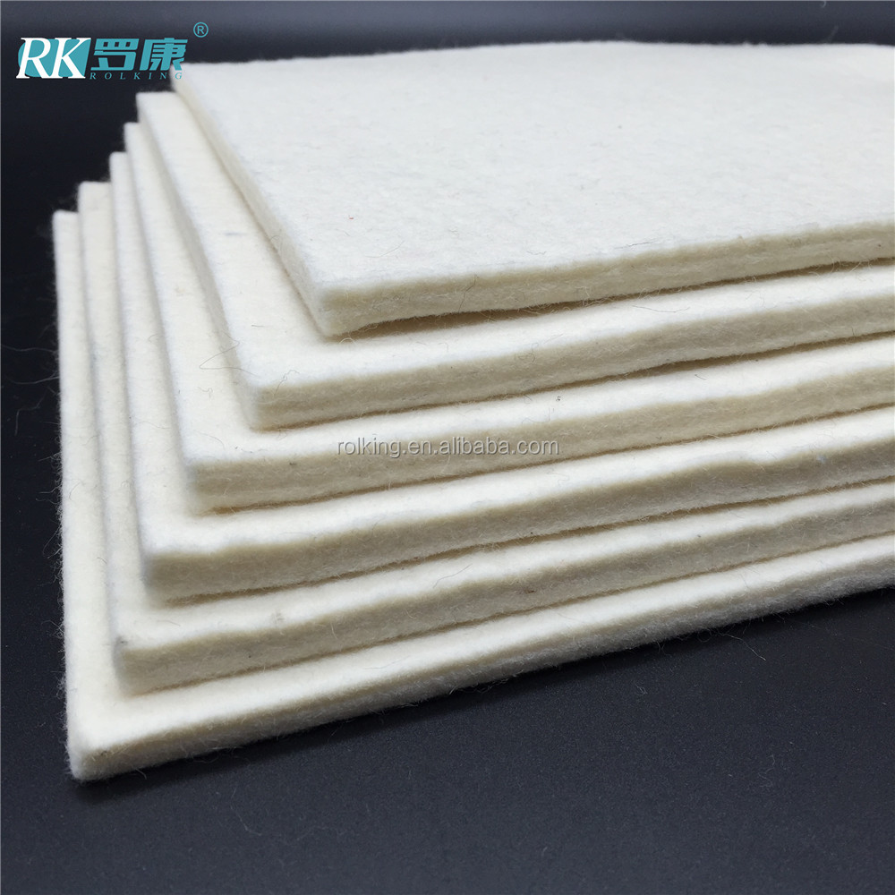 Industrial Wool Felt With 3mm 5mm 8mm 10mm