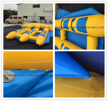 3 Person Water Banana Towable Ski Inflatable Towable Tube