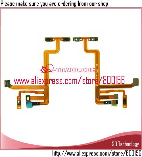 Power Switch On/Off Flex Cable Ribbon parts for iPod Touch 5 5G